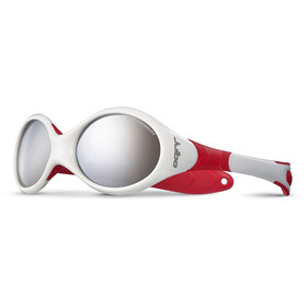 Julbo Looping II Spectron 4 Sunglasses 12-24M Kids, white/red-gray flash silver